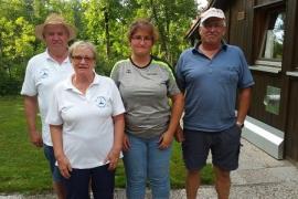 Mixed-Turnier Haimhausen 03.08.2019 4. Platz Plixenried-Langengern