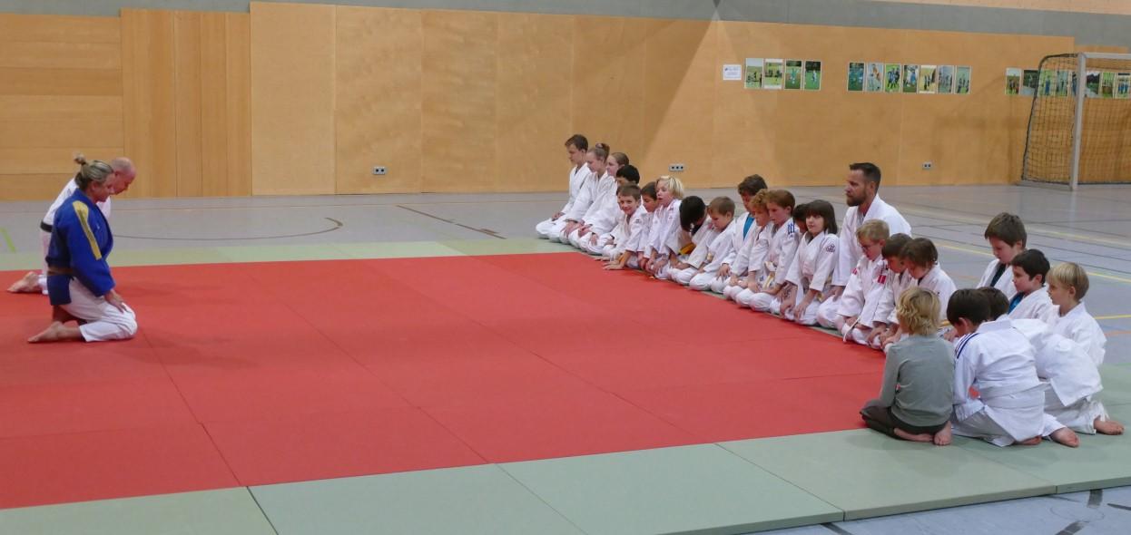 Haimhauser Judo verneigt sich vor Theo Thönnissen