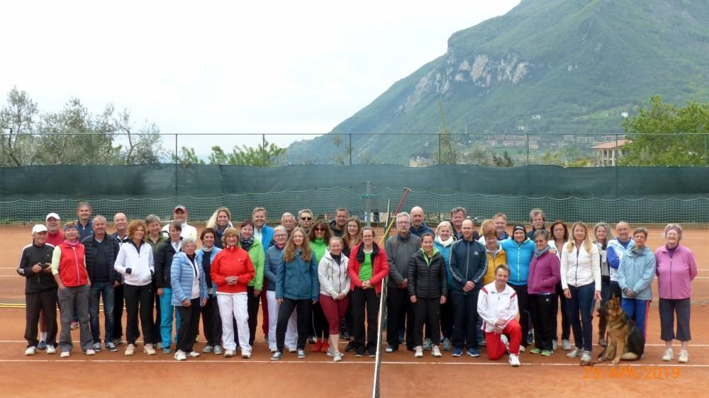 13. Tenniscamp des SV Haimhausen am Gardasee