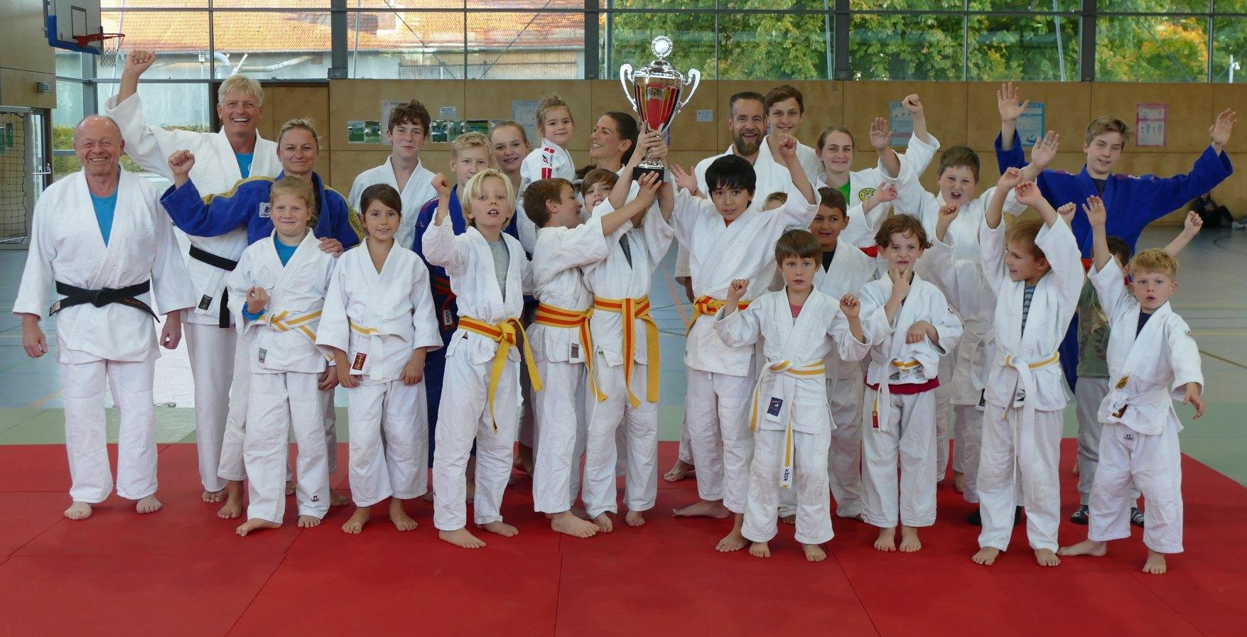 Verteidigung des großen Judo-Triumphes