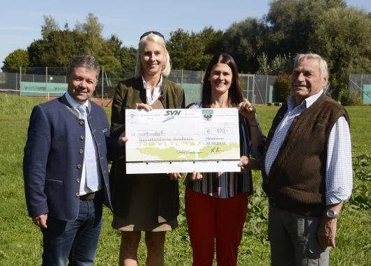 Spendenerlös für neue Calisthenics-Anlage beim SV Haimhausen